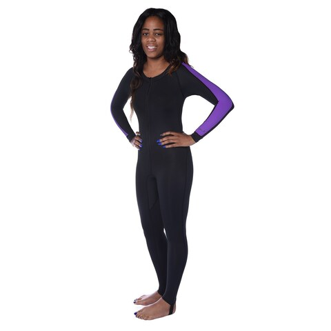 Ivation Women's Wetsuit - Lycra Full Body Diving Suit & Sports Skins (Extra Small)