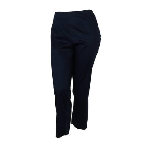 Charter Club Women's Slim Leg Ankle Classic Fit Dress Pants