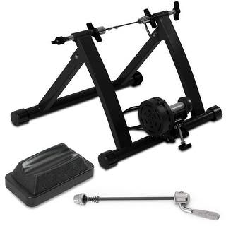 Akonza Bicycle Cycling Magnetic Trainer W/ 7-Levels Resistance Exercise Stand - Black|https://ak1.ostkcdn.com/images/products/is/images/direct/aacfa354563898a0a2830dbc1fb328de9f5e7c74/Akonza-Bicycle-Cycling-Magnetic-Trainer-W--7-Levels-Resistance-Exercise-Stand---Black.jpg?impolicy=medium