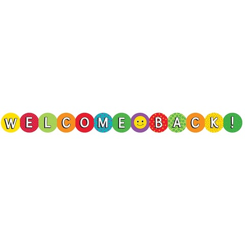 Welcome Back Border