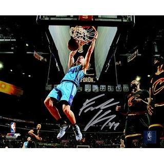 Frank Kaminsky Signed Charlotte Hornets Slam Dunk Action 8x10 Photo