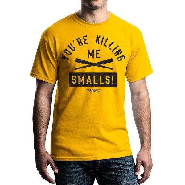 Sandlot Crossed Bats Men's Gold T-shirt