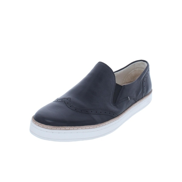 a3abb9e14e1 Shop Ugg Womens Slip On Shoes Leather Wool Heel - 9.5 Medium (B,M ...