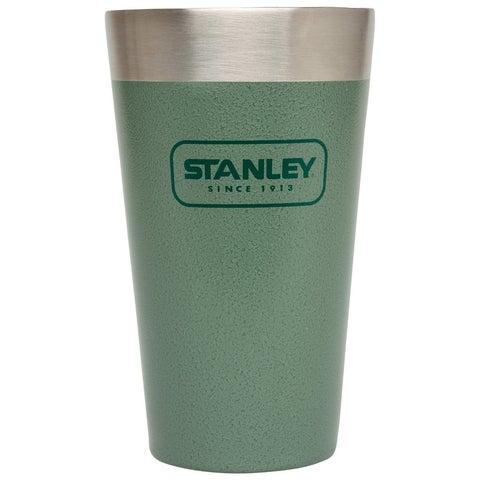 Stanley 10-02282-001 Adventure Stacking Vacuum Pint, 16 Oz, Hammertone Green