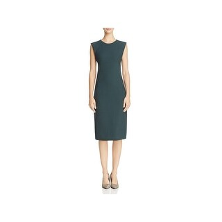 Theory Womens Wear to Work Dress Sleeveless Wool