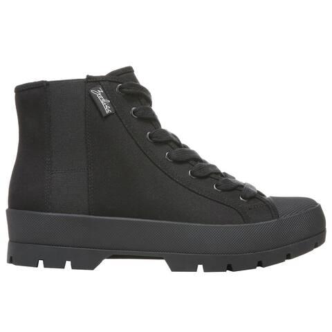 Zodiac Logan High Womens Sneakers Shoes Casual - Black