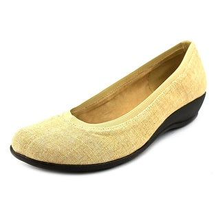 Soft Style by Hush Puppies Rogan W Square Toe Canvas Flats