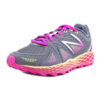 New Balance Trail Running Women Round Toe Synthetic Gray Trail Running