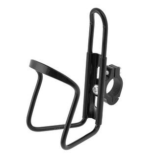 Metal Light Cycle Bicycle Bike Water Bottle Holder Cage Bracket Black