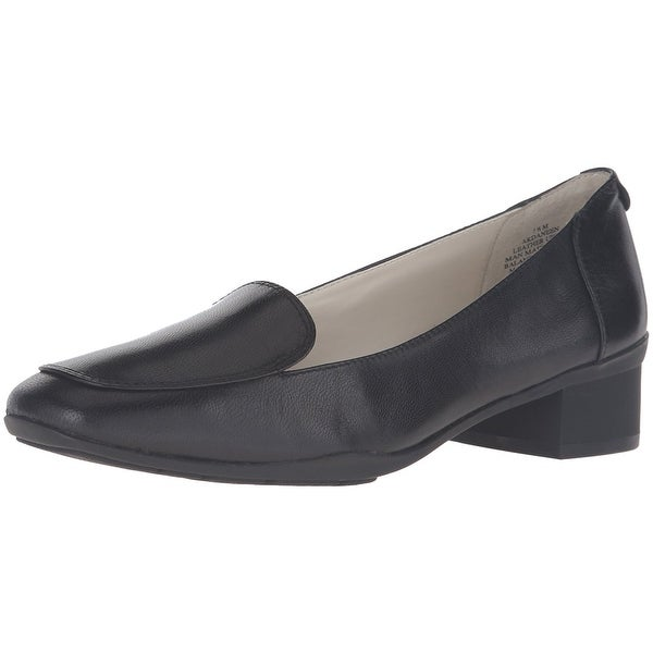 7d05f38e5a6 Shop Anne Klein Womens DANEEN Leather Square Toe Loafers - Free ...