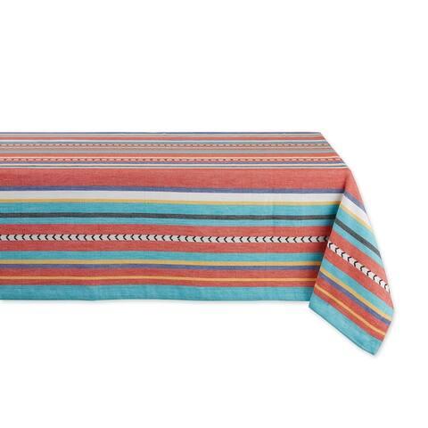 DII Picante Stripe Tassel Table Runner 13x72