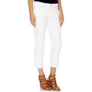 Lucky Brand Womens Sweet Crop Capri Jeans Denim Relaxed Fit