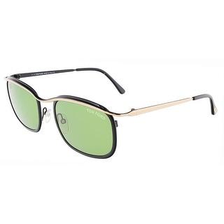 Tom Ford FT0419/S 05N MARCELLO Black/Rose Gold Rectangular sunglasses