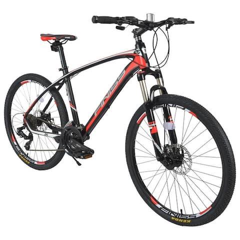 26 inch 24speeds Bikes, shimano shifter system, front&rear disk brake