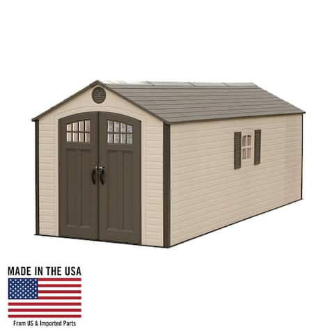 Lifetime 8 Ft. x 20 Ft. Outdoor Storage Shed 60120