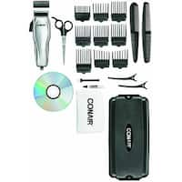 Conair HC200GB Custom Cut Haircut Kit with Case, 21-Piece,