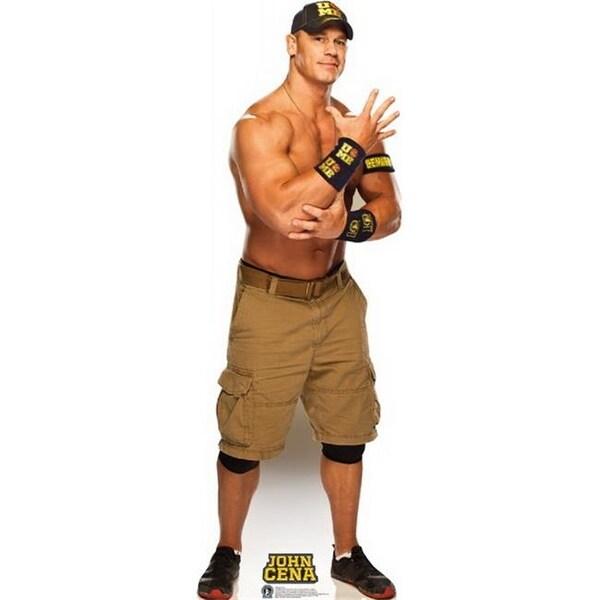 Advanced Graphics 1475 John Cena Navy and Gold - WWE