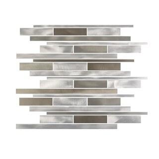 Miseno MT-ALLOYLINEARSHWIDE Alloy - Wide Glass Visual - Wall Tile (Sold by Sheet)