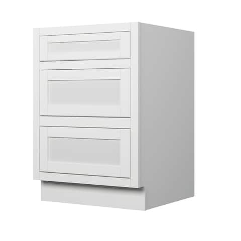 "Sagehill Designs VDB24D Veranda 24"" Drawer Base with Dove Tailed Drawer & Soft Closing Glides - Linen"