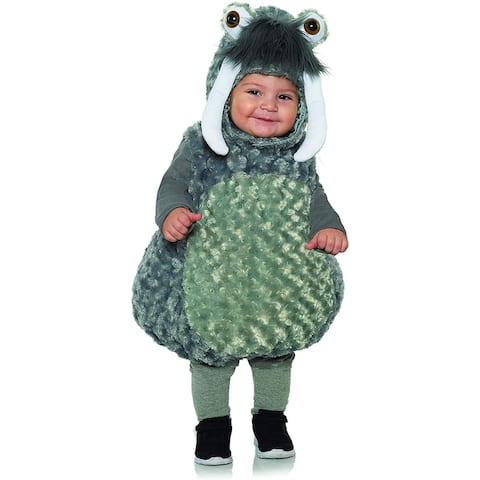 Grey Walrus Belly Babies Toddler Costume