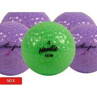 100 Crystal Mix - Near Mint (AAAA) Grade - Recycled (Used) Golf Balls