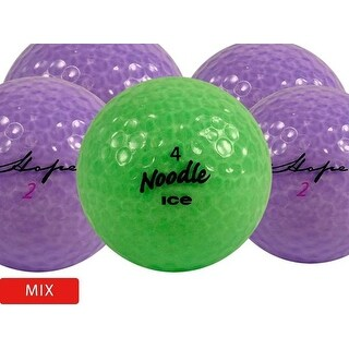 36 Crystal Mix - Mint (AAAAA) Grade - Recycled (Used) Golf Balls