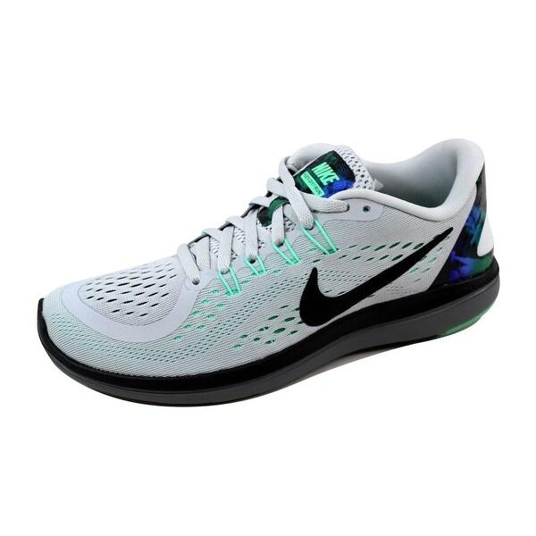 3595b29935249 Shop Nike Women s Flex 2017 Run Pure Platinum Chrome 898476-013 Size ...