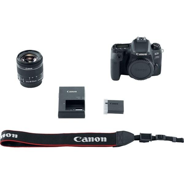Canon EOS 77D DSLR Camera with 18-55mm Lens (International Model)