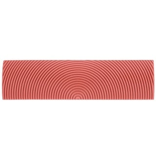 6 Inch Wood Graining Rubber Grain Tool Pattern Wall Painting DIY Red MS10