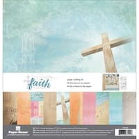 """Paper House Paper Crafting Kit 12""""X12""""-Faith"""