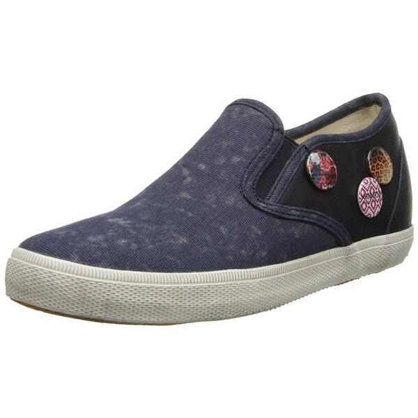 KIM&ZOZI Women's Murcia Fashion Sneaker, Navy, Size 9.0