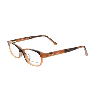 Burberry BE2202F 3518 Brown Rectangle Journal Optical Frames - 54-16-140