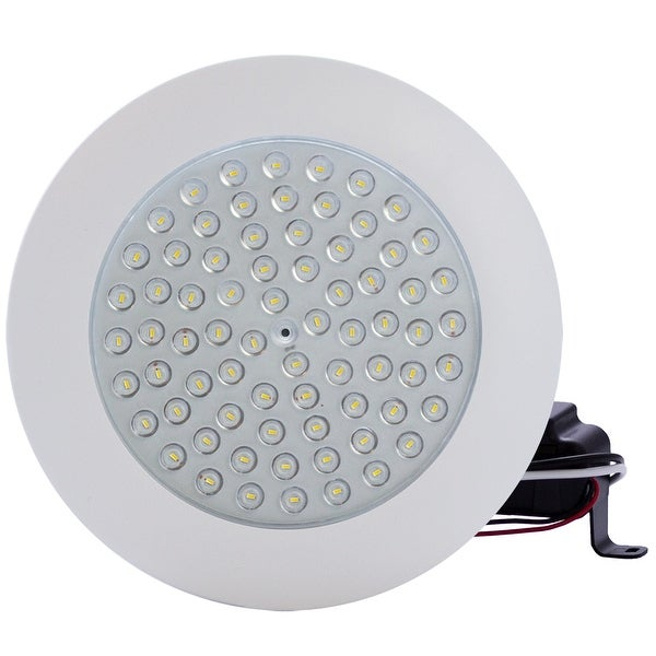 """6"""" 9W 5000K LED Clear Lens Dimmable Downlight Flush Mount. Opens flyout."""