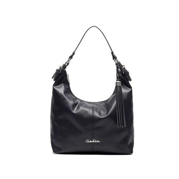 c532f4454cdd Shop Carlos Falchi Womens Luana Hobo Handbag Faux Leather Adjustable -  MEDIUM - Free Shipping On Orders Over  45 - Overstock - 17157658