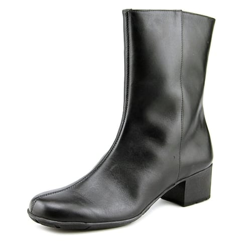 Walking Cradles Womens Merlin Leather Closed Toe Mid-Calf Fashion Boots