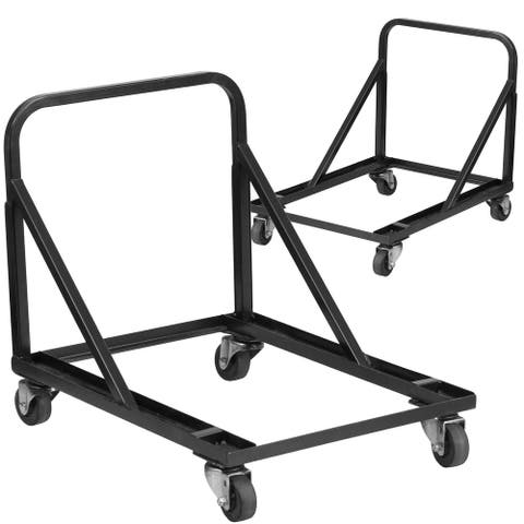2PK Band/Music Stack Chair Dolly - Designed For Commercial Use