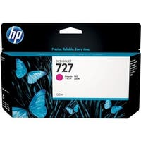 HP B3P20A HP 727 130-ml Magenta Ink Cartridge