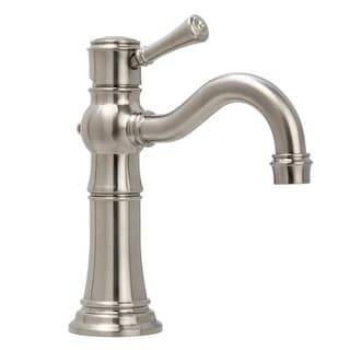 Miseno ML521 Carlentini Single Hole Bathroom Faucet - Push-Activated Pop-Up Drain Assembly Included