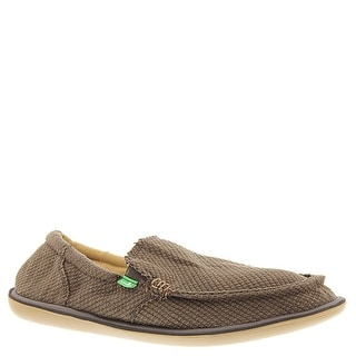 Sanuk Mens Chibalicious Sidewalk Surfers Footwear - brown hemp - 8 d(m) us