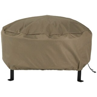 Sunnydaze Durable Fire Pit Cover Round - Long Lasting - Options