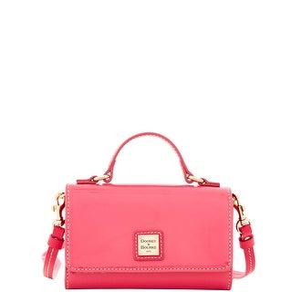 Dooney & Bourke Patent Small Mimi Crossbody (Introduced by Dooney & Bourke at $168 in Sep 2016) - Fuchsia