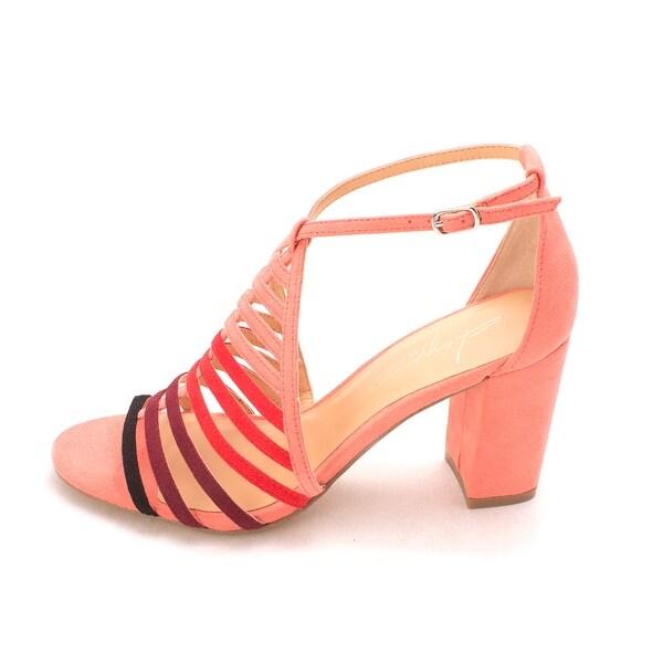Daya by Zendaya Womens Soda Open Toe Casual Ankle Strap Sandals