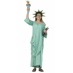 Statue of Liberty Adult Standard Size Costume 12 - standard (10-14)