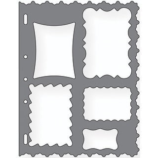 "Shape Template 8.5""X11""-Frames"