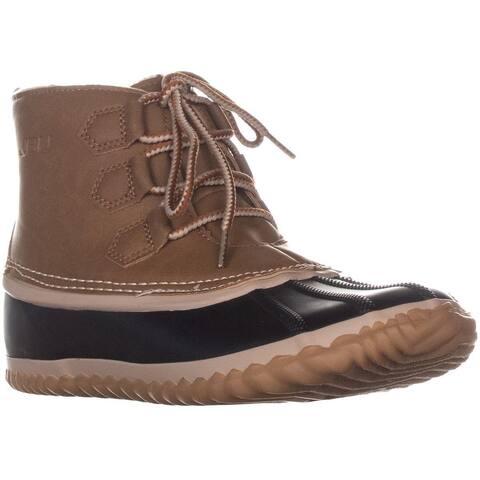 JBU by Jambu Nala Rain Boots, Saddle/Black
