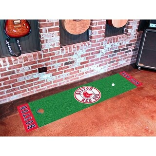 MLB - Boston Red Sox Putting Green Runner 18 Inches x 72 Inches