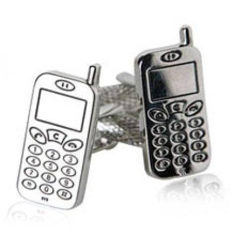 Cellphone Technology Mobile Communication Cufflinks