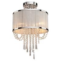 Artcraft Lighting AC10384 Valenzia 4-Light Semi-Flush Ceiling Fixture - Chrome - n/a
