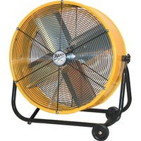 MaxxAir BF24TFYELUPS 24 inch Direct Drive Tilt Fan - YELLOW