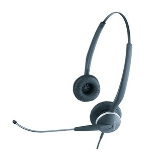 Jabra GN 2115 ST Duo Headset Replaced by GN 2125 Duo Corded Headset w/ Noise-Canceling Microphone